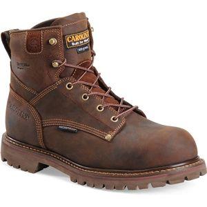 Carolina Mens 6 Inch Waterproof Insulated Work Boot Cigar Boots   CA3032