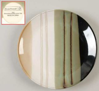 Home Trends Jazz Dinner Plate, Fine China Dinnerware   Striped Bands, Smooth,Cou