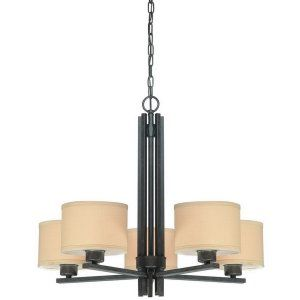 Dolan Designs DOL 2940 34 Tecido 5 Light Chandelier