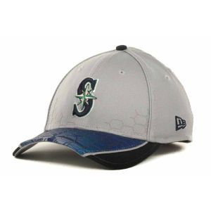 Seattle Mariners New Era MLB Hybrid Hex 39THIRTY Cap