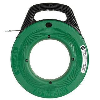 Greenlee FTSS438200 MagnumPro 1/8 Steel Fish Tape with Case 200 Feet