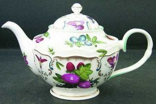 Royal Worcester Duke Of Gloucester Teapot & Lid, Fine China Dinnerware   Floral