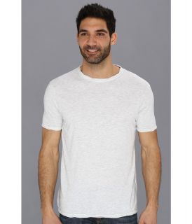 Lucky Brand Weekend Rope Crew Mens Short Sleeve Pullover (White)