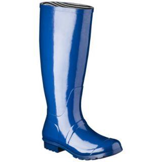 Womens Classic Knee High Rain Boot   Marine Blue 6