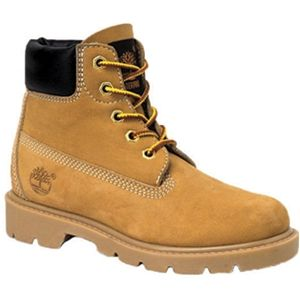 Timberland Kids 6 Inch Classic Boot Toddler Wheat Nubuck Boots   10860