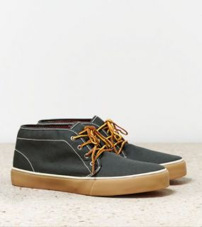 Olive AEO Canvas Chukka, Mens 9