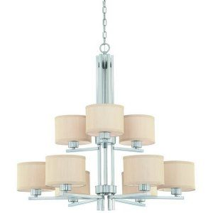 Dolan Designs DOL 2942 09 Tecido 9 Light Chandelier