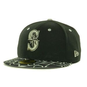 Seattle Mariners New Era MLB Pop Crackle 59FIFTY Cap