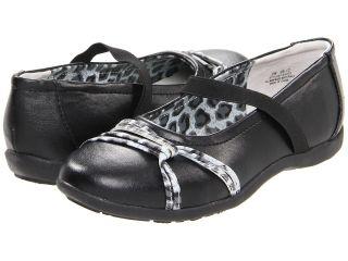 Jumping Jacks Kids Balleto   Amanda Girls Shoes (Black)