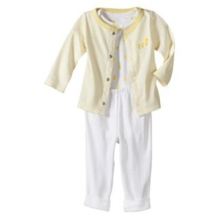 Just One YouMade by Carters Newborn 3 Piece Set   Yellow Duck Family NB
