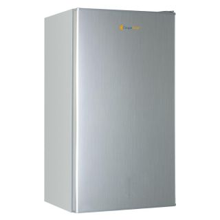 Grape Solar GSUF5FAB1 Refrigerator, Glacier 5 Cu. Ft. Mini Upright Marine w/AC amp; DC Adapters Brushed Gray