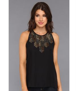 Parker Rey Top Womens Blouse (Black)