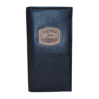 John Deere Checkbook Wallet, Black, Mens