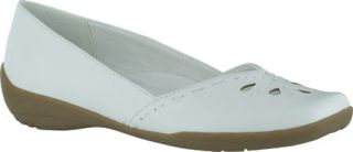 Womens Easy Street Nadine   White Polyurethane Casual Shoes