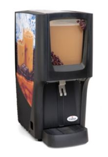 Grindmaster   Cecilware 5 gal Capacity 12 1/2 W Crathco Cold Beverage Dispenser, Front Window
