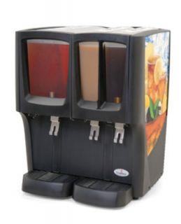 Grindmaster   Cecilware Triple Cold Beverage Dispenser, (1) 5 Gallon & (2) 4 Gallon