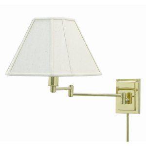 House of Troy HOU WS16 61 Universal Wall Swing Polished Brass