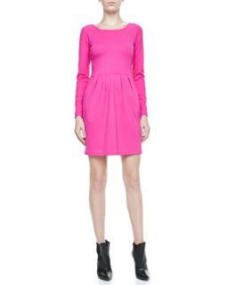 Womens Hilary Long Sleeve Knit Dress   Amanda Uprichard
