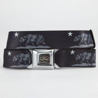 Cali Bear Ford Buckle Belt Black/Grey One Size For Men 233126127