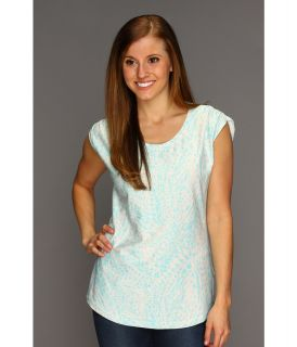 Columbia Rocky Ridge II Print Tee Womens T Shirt (Blue)