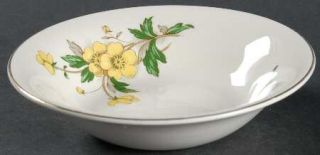 Edwin Knowles Buttercup Fruit/Dessert (Sauce) Bowl, Fine China Dinnerware   Yell