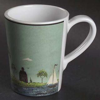 Sakura Coastal Breeze Melamine Mug, Fine China Dinnerware   Warren Kimble,Lighth