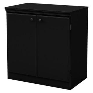 Storage Cabinet: Morgan Storage Cabinet   Black