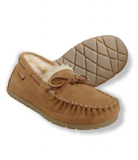 Mens Wicked Good Moccasins, Solid