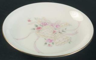 Mikasa Forever Love Coaster, Fine China Dinnerware   Bells & Ribbons W/Floral Ce