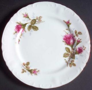 Fine China of Japan Royal Rose Bread & Butter Plate, Fine China Dinnerware   Mos