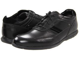 Rockport Style Side Bal Mudguard Mens Lace Up Moc Toe Shoes (Black)