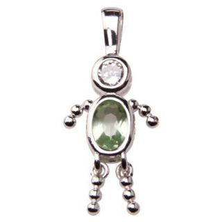 Sterling Silver August Boy Charm