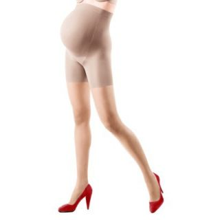 ASSETS by Sara Blakely A Spanx Brand Womens Maternity Perfect Pantyhose   Nude