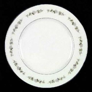 Franconia   Krautheim Cindy Dinner Plate, Fine China Dinnerware   White Flowers,