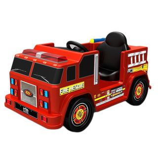 Kid Motorz Fire Engine Truck (RedDimensions 39.3 inches long x 23.2 inches wide x 23.6 inches highWeight 37 poundsAssembly required. )