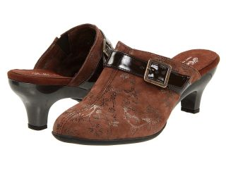 Helle Comfort Blair Womens Clog Shoes (Brown)