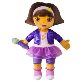 Dora the Explorer Rock Star Plush Cuddle Pillow   Pink (Toddler)