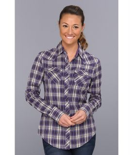 Kuhl Sante Fe Womens Long Sleeve Button Up (Purple)