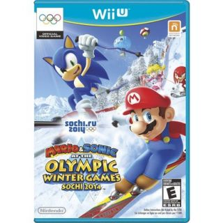 Mario & Sonic at the Olympic Winter Games Sochi 2014 (Nintendo Wii U)
