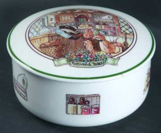Villeroy & Boch Foxwood Tales Medium Candy Box, Fine China Dinnerware   Boutique