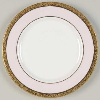 Mary Kay Mak1 Bread & Butter Plate, Fine China Dinnerware   Gold Encrusted Band,