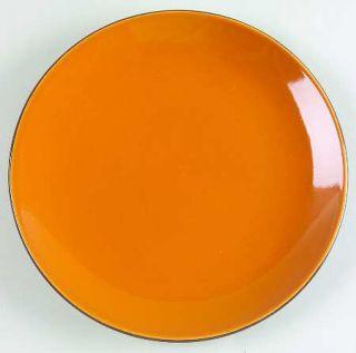 Corning Cumin Orange (Round) Luncheon Plate, Fine China Dinnerware   Hearthstone