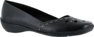 Womens Easy Street Nadine   Black Polyurethane Casual Shoes