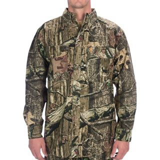 Browning Wasatch Camo Shirt   Cotton Chamois  Long Sleeve (For Men)   MOSSY OAK INFINITY (M )