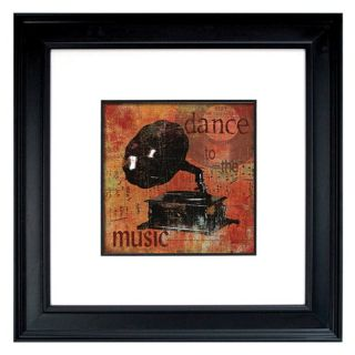 Crystal Art Gallery Dance To The Music Framed Wall Art   25.37W x 25.37H in.