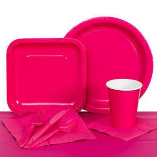 Hot Pink Paper Party Pack