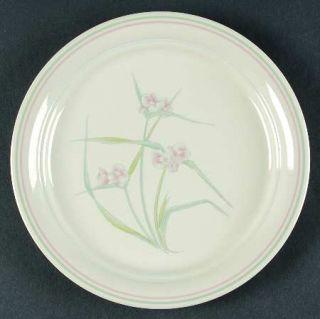Corning Spring Pond Luncheon Plate, Fine China Dinnerware   Corner Stone,Pink/Bl