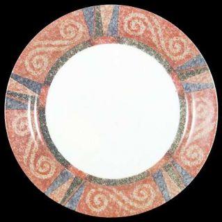 Corning Sand Art Dinner Plate, Fine China Dinnerware   Corelle,Coral,Blue& Green