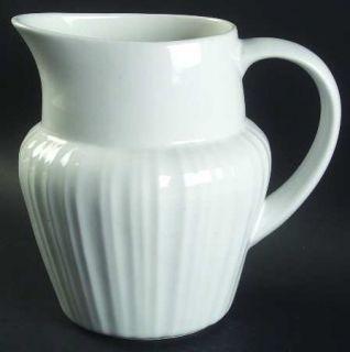 Corning French White (Bakeware) 80 Oz Pitcher, Fine China Dinnerware   Corningwa