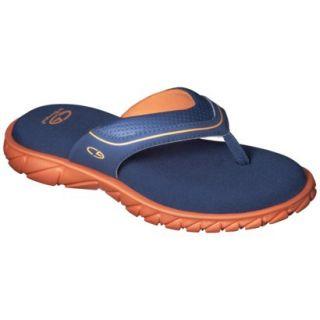 Boys C9 by Champion Pat Flip Flop Sandals   Navy/Orange S